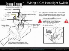 headlight switch wiring diagram the intelligent multiplex system june 2010
