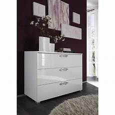 Commode Design Blanc 3 Tiroirs Commode Chambre Adulte