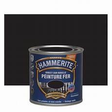 Peinture Fer Hammerite Antirouille Noir Mat Ferronnerie