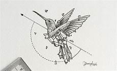 geometric hummingbird design visit artskillus ru