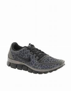 image 1 of nike free running 5 0 v4 gray leopard