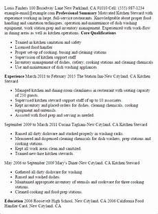 Kitchen Clerk Description by Standard Operating Procedure Exles Template Business