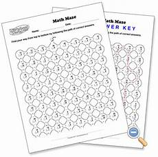 math maze worksheetworks com math division math homeschool math