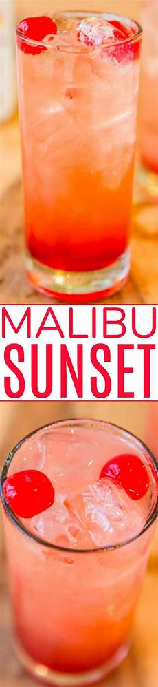 malibu drink fruity coconut rum drink treats to try