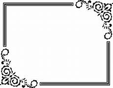 756 bingkai hias clipart gratis domain publik vektor
