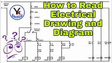 how to read electrical drawing and diagram by yk electrial youtube