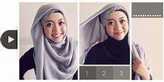 Cara Memakai Jilbab Segi Empat Cantik Dan Simple