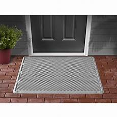 Door Outdoor Mat by Weathertech Outdoor Door Mat 76x122 Cm Grey Odm2g Vidaxl