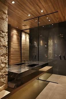 salle de bain gris bois d 233 co salle de bain zen parement mural et bois