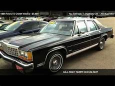 automotive air conditioning repair 1984 ford ltd crown victoria transmission control 1984 ford ltd crown victoria base for sale in longmont co 80501 youtube