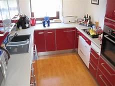 ikea küchenfronten hochglanz ikea k 252 che hochglanz rot weiss traumhaft in seukendorf
