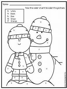 color by number winter coloring sheets 18159 winter color by numbers numbers by the kindergarten pod tpt