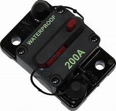 12 volt sicherungsautomat circuit breaker dual battery system boat fridge 200