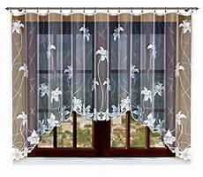 store gardinen haft 174 gardine store vorhang transparent elegant wei 223