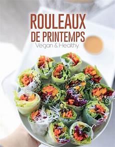 Rouleaux De Printemps Vegan Id 233 Al Lunchbox Recette Saine