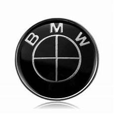 7pcs lot new bmw black emblem logo badge set 82 74mm
