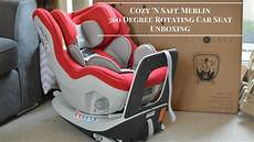 Cozy N Safe Merlin 360 Degree Rotating Car Seat Unboxing