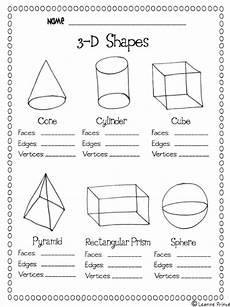 shapes worksheet grade 3 1125 this printable on shapes easy practice teaching math math school homeschool math