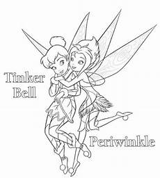 tinkerbell fairies coloring pages 16572 tinkerbell and periwinkle coloring pages coloring home