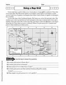 map reading worksheets grade 1 11626 using a map grid worksheet for 4th 7th grade social studies worksheets social studies maps