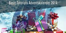 gewinnspiel adventskalender 2014 der basic tutorials adventskalender 2014