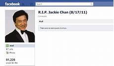 jackie chan hoax social media kills another