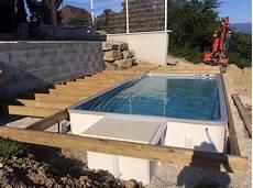 mini piscine enterrée mini piscine et couloir de nage europiscine piscines