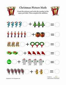 christmas math for kindergarten education com