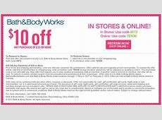 bath and body works mail coupons