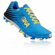 pro du sport hoka one one evojawz bleue chaussures de trail produsport