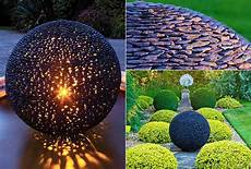 Fantastische Garten Ideen Mit Gro 223 En Gartenkugeln Aus