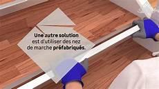 comment poser du vinyle ou lino sur un escalier