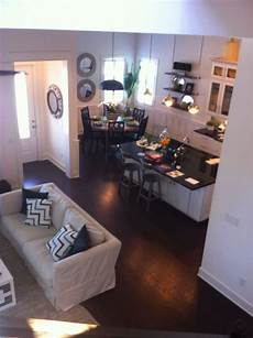 small open plan home this is a exle of how a small looking home can