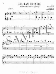 carol of the bells pdf sheet music music