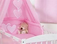 baldacchino per lettino baldacchino lettino neonato rosa cuori