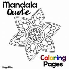 mandala coloring pages sayings 17972 mandala coloring pages with einstein quotes by winged one tpt