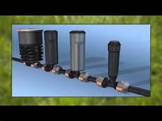 gardena bewässerungssystem verlegen gardena sprinklersystem schulungsfilm 25 32mm