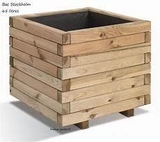 bac à bois bac jardini 232 re bois pour plantes stockholm autoclave