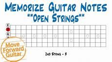 Memorize Guitar Notes Open Strings