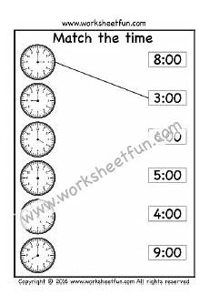 time worksheets grade 2 free 3009 match the time 2 worksheets time worksheets free math printables printable worksheets