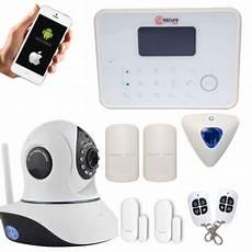 Maison Sans Fil Alarme Maison Sans Fil Gsm Et Rtc 233 Ra Ip Wifi