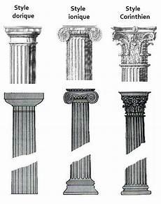 les 3 ordres architecturaux grecs en 2019 grecque