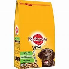 achat croquette chien en gros croquettes light pour chien 224 la volaille 3 5kg pedigree 174