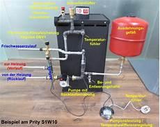 pelletofen wasserführend an heizung anschliessen wasserf 252 hrender kamin als teich heizung haustechnikdialog
