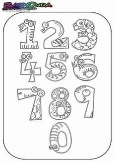 Malvorlagen Buchstaben Und Zahlen Ausmalbilder Zahlen Vorlagen Zum Z 228 Hlen Lernen Zahlen