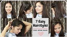 Hairstyle For Open Hair
