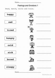 feelings and emotions english esl worksheets for distance learning and physical classrooms