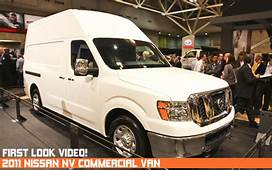 Video First Look 2011 Nissan NV Commercial Van