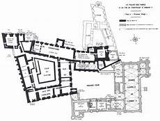 plan avignon floor plan palais des papes avignon the papal residence between the xiv and xv