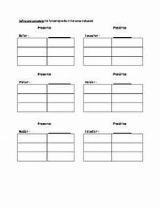 spanish ar practice worksheet for preterite tense by